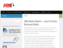Tablet Preview of abcradio.ca